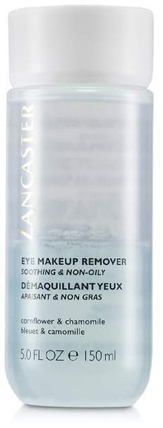 Lancaster Cleansing Block Eye Makeup Remover - Eye Makeup Tutorials and Tips Eye Makeup Remover, Lancaster, How To Remove, Eyes, Makeup Tutorials, Bottle, Blueberry, Flask, Make Up Tutorial