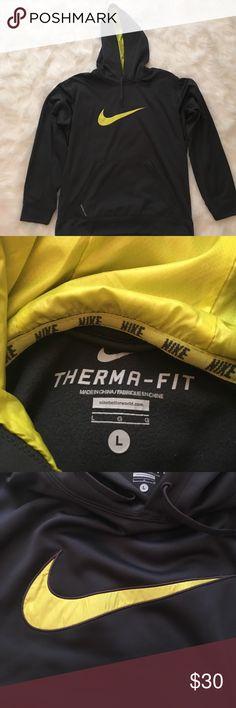 Nike Therma Fit Sweatshirt Nike Therma Fit Sweatshirt. Men's Large. Great condition - hardly worn Nike Shirts Sweatshirts & Hoodies