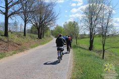 Czerwony szlak rowerowy Grodzisk Pruskich  Źródło: www.it.mragowo.pl