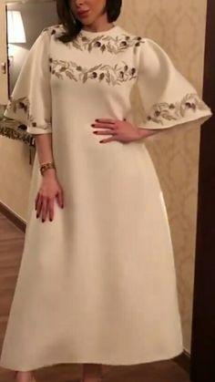 Modest Dresses, Simple Dresses, Beautiful Dresses, Casual Dresses, Short Dresses, Fashion Dresses, Arab Fashion, Muslim Fashion, African Fashion