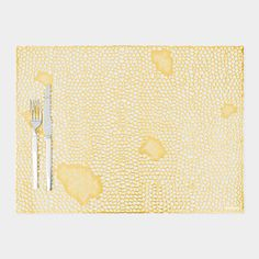 Coral Placemat also in Silver $8.00