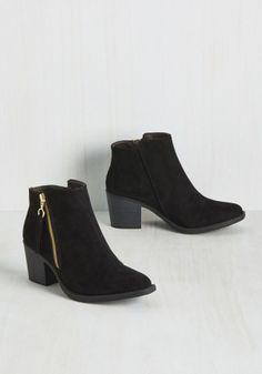 5327db2b079 Shop the hottest booties from Modcloth on Keep! Black Booties Outfit