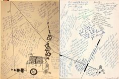 Some signatures in the 1956 yearbook of Westchester high school in Los Angeles, California.  #Westchester #yearbook #1956