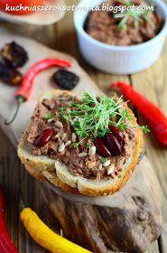Kuchnia szeroko otwarta: Pasta z czerwonej fasoli i suszonych pomidorów
