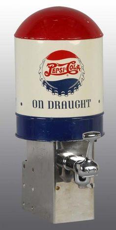 Metal & Tin Pepsi-Cola Soda Dispenser