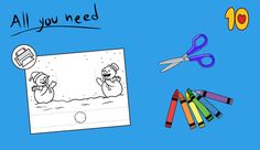 Snowball Crafts for preschool