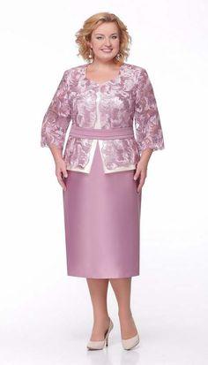 Коллекция женской одежды больших размеров белорусской компании Aira Style, весна-лето 2017