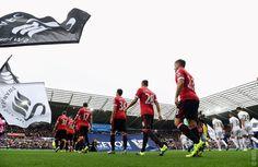 United vs Swansea City in 2015