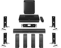 Bose Lifestyle 650 Home Entertainment System with Wall Br...
