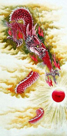 Dragon,66cm x 130cm(26〃 x 51〃),4738038-z