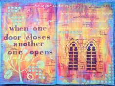 Yours Artfully: My A3 journal