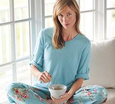 Cotton Modal 3/4 Sleeve Adele Pajama