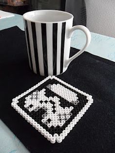 Hama Beads Stormtrooper Coasters