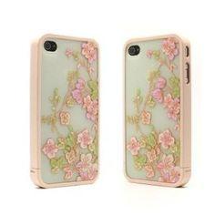 Ero Fancy Pattern Hard Shell Case for iPhone 4/4S