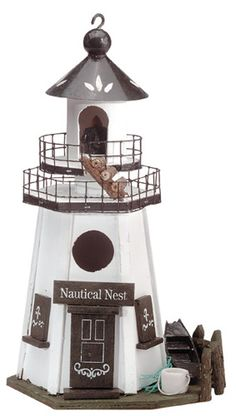 Broward Flag Co. Caged Bird Feeders, Bird House Feeder, Bird Cage, Boys Bathroom Decor, Bat Box, Birdhouse Designs, Birdhouse Ideas, Bug Hotel, Bird House Kits