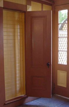 Door opening to nothing- Winchester Mystery House