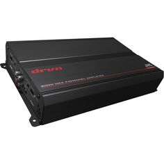 JVC - KS 360W Class AB Bridgeable Multichannel Mosfet Amplifier with Built-In Crossovers - Black, KS-DR3004