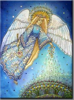 Surrounded by angels - Page 11 - World Team Christmas Angels, Christmas Art, Seraph Angel, Angels Beauty, Angel Images, Angel Crafts, Angels Among Us, Guardian Angels, Art Moderne