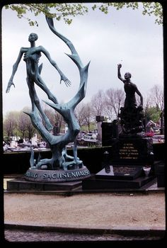 Holocaust Memorial, Paris. It would be interesting to have students explore Holocaust memorials across the world, and then create their own from the perspective of a modern young person.