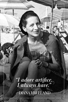 11 of Diana Vreeland's Best Quotes  - TownandCountryMag.com