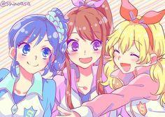 Aoi, Ran et Ichigo