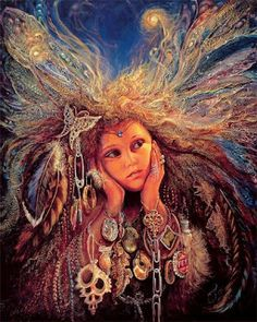 Collection kartinok: Josephine Wall _ Fantasy