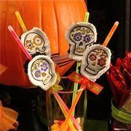 Inkadinkado® | Voodoo Magic Glow Sticks - Great way to dress up the glow sticks and keep trick or treaters safe #Halloween #Greatidea
