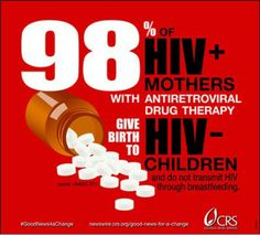 Yes, #HIV-positive women can have HIV-negative children.