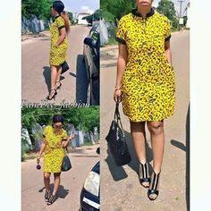 Ankara Xclusive: Classic, Stylish and Latest Ankara Short Dresses 2018 for Smart Ladies Short African Dresses, Latest African Fashion Dresses, African Print Dresses, African Print Fashion, Short Dresses, Long Gowns, Ankara Fashion, African Prints, Moda Afro