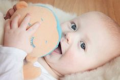 Lulla doll sleep companion for babies imitates closeness of a caregiver at rest with sounds of heartbeat & breathing. Sleep longer, Feel better & Be Safer.