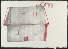 Louise Bourgeois. When, What, Where, Why? (Dalai Lama Benefit), first version, only state. (1999)