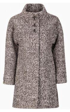 Пальто шерстяное (артикул:119419000) La reine blanche снежная королева 11190 руб
