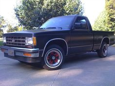 Chevy S-10 I inherited after my father died. I traded it in for the Dodge Dakota.