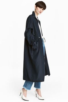 Parka oversize - Azul oscuro - MUJER | H&M ES 1