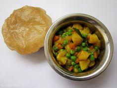 Sú to veľmi známe a obľúbené indické raňajky, ale Puri Bhaji sa v celej Indii pripravuje aj pri iných príležitostiach ako sú rôzne festiva...