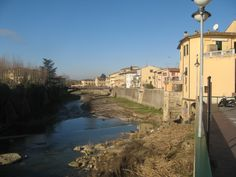 Il torrente Pesa dalla Passerella 02