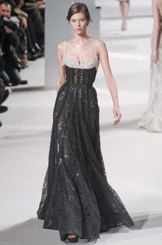 Défilé Elie Saab Printemps-été 2011 Haute couture   Le Figaro Madame