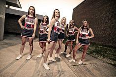Cheerleading sjh cheer t Cheerleading Poses, Senior Cheerleader, Cheer Poses, Cheerleading Pictures, Hot Cheerleaders, Dance Team Photos, Cheer Team Pictures, Cheer Picture Poses, Picture Ideas