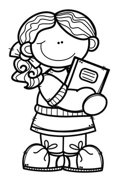 Spring Coloring Pages, Coloring Book Pages, Coloring For Kids, Coloring Sheets, Homeschool Worksheets, Dibujos Cute, Space Party, Clipart Black And White, Drawing For Kids