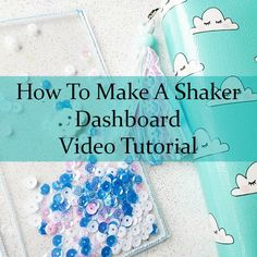 For a long time now people have asked me how I make my shaker dashboards. So, I decided to put together a tutorial video…my first one! My shaker dashboards are made using a sewing mach…