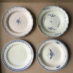 Plates made in Nimy Belge c.1810-1825
