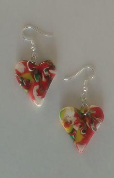 "#Ohrringe ""arte"" #Ohrschmuck #Modeschmuck #Kunst #Schmuck  #Pendientes ""arte"" #aretes – #joya  #Earrings ""arte"" #jewellery Red Fashion, In A Heartbeat, Editorial Fashion, Cool Photos, I Am Awesome, Handmade Jewelry, Arts And Crafts, Drop Earrings, Etsy"