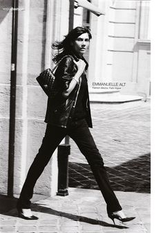 Emmanuelle Alt. Parisian cool and effortlessly chic.