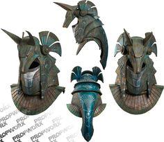 Stargate Horus/Anubis Helmet WIP