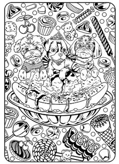 lisa frank coloring pages 2. Lisa Frank coloring pages frank to download and print for free