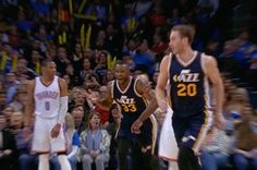 Last night, with seconds on the shot clock, the Utah Jazz's Trevor Booker made jaws drop around the world with the most shocking circus shot you'll ever see. Video Go, Digital Journal, Utah Jazz, A Team, Nba, Shots, Buzzer, Trust, Clock