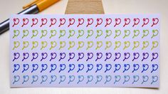 StickersSwissMade@Etsy - small stickers for every planner or bullet journal which is out there!  PLANNER STICKER || tennis racket || sport || small rainbow colored | for your planner and bullet journal #BujoStickers #tennis #PlannerStickers #BulletJournal #FilofaxStickers #TennisRacket #LivewellPlanner #PersonalPlanner #sport #JournalStickers https://www.etsy.com/shop/StickersSwissMade?utm_source=outfy&utm_medium=api&utm_campaign=api