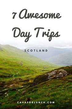 The 7 Best Day Trips from Glasgow. See the #HarryPotterBridge or get lost in #ScottishCastles. #Highlands #Edinburgh #Glasgow #PollokHouse #CulzeanCastle