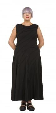Black Ment Jersey Dress