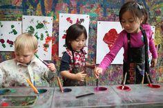 Open Studio at mocha childrens art museum in Oakland!!!